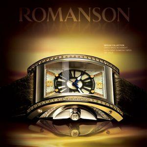 часы романсон, часы романсон с автоподзаводом