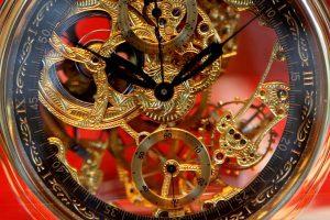 механизм часов, как работают механические часы