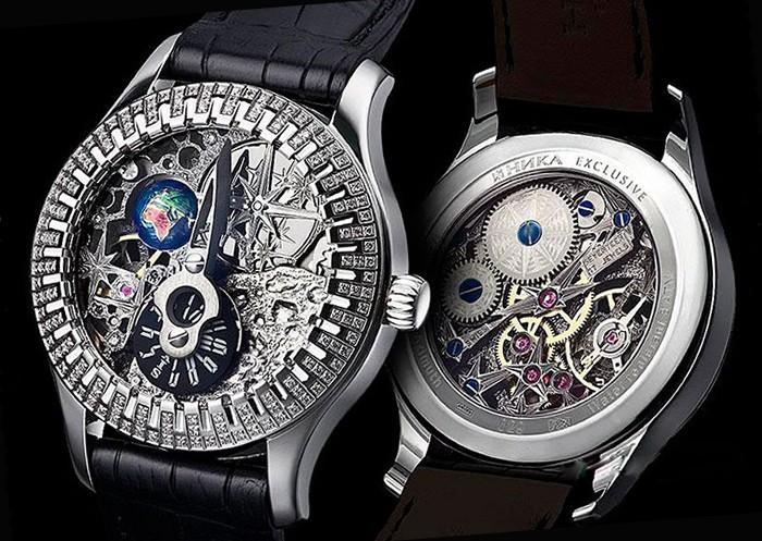 Часы с браслетами ника женские фото