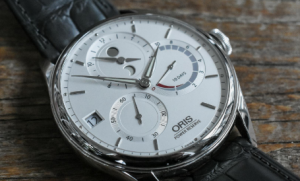 часы Oris белый циферблат