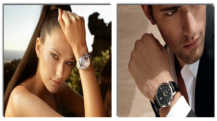 мужские и женские часы