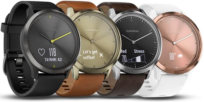 garmin vivomove hr цвета