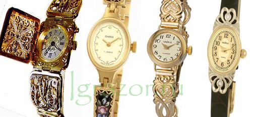 Модели часов бренда Чайка