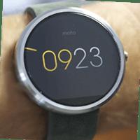 Motorola Moto 360 фото
