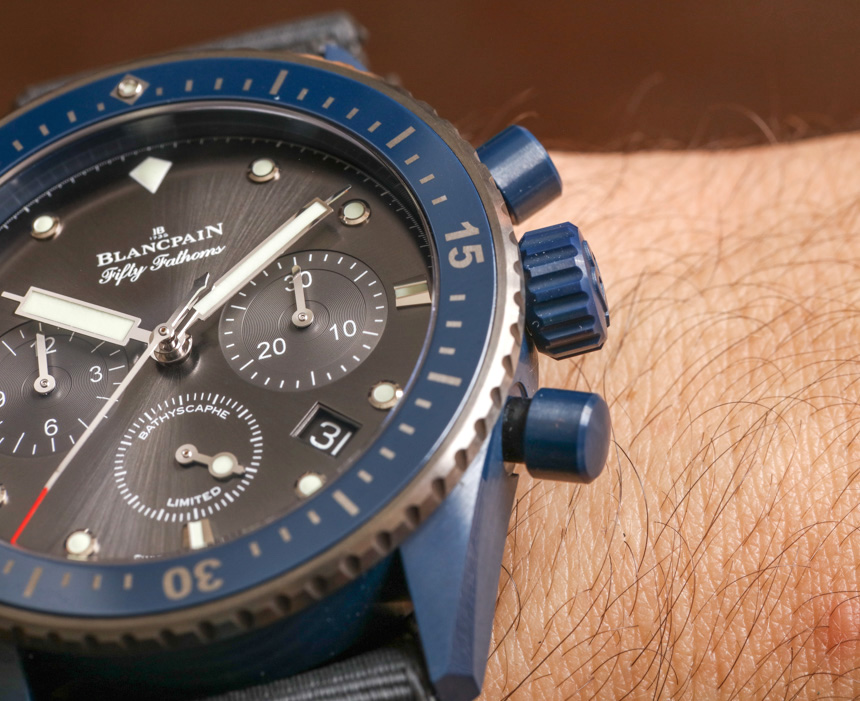 фото Blancpain Fifty Fathoms Bathyscaphe Flyback Chronograph