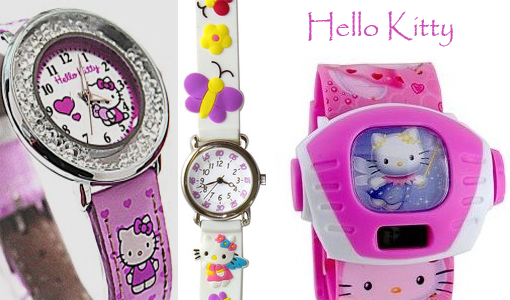 часы для девочек хелоу Китти