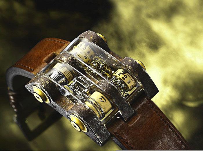 Romain Jerome Cabestan Titanic DNA Tourbillon Vertical