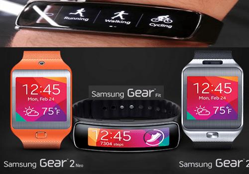 Виды умных часов galaxy gear