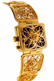 Женские Золотый часы Чайка